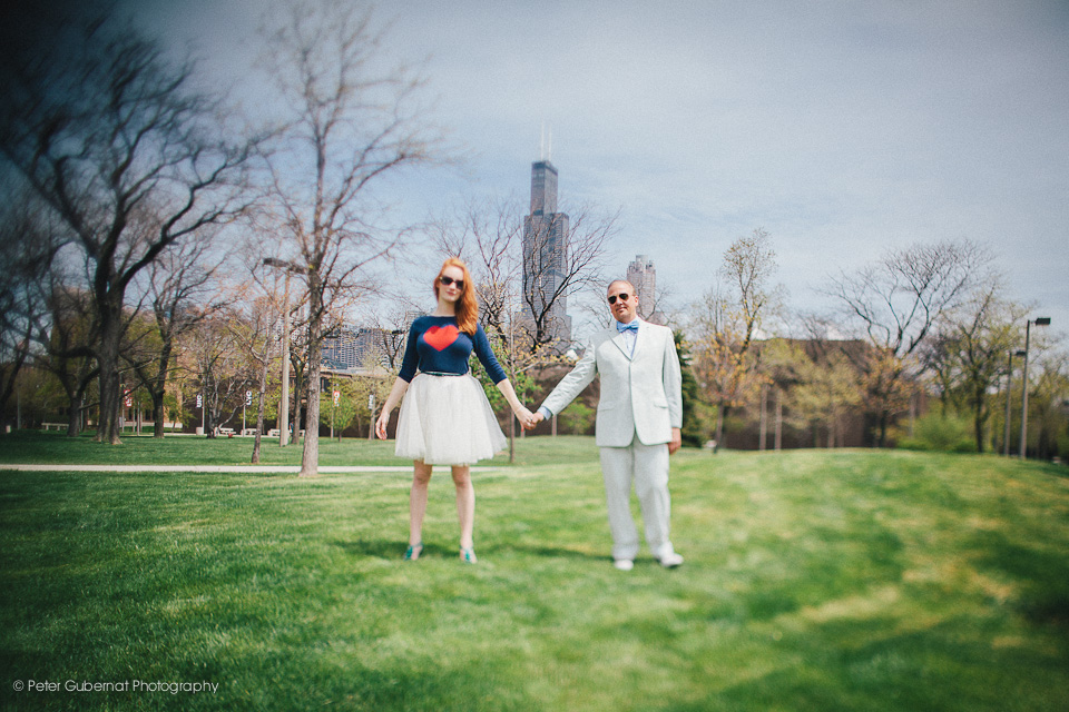 Engagement Shoot in Chicago.