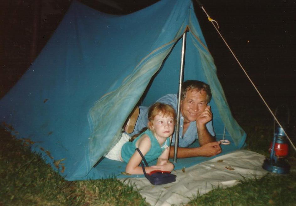 Christiana and Grandpa