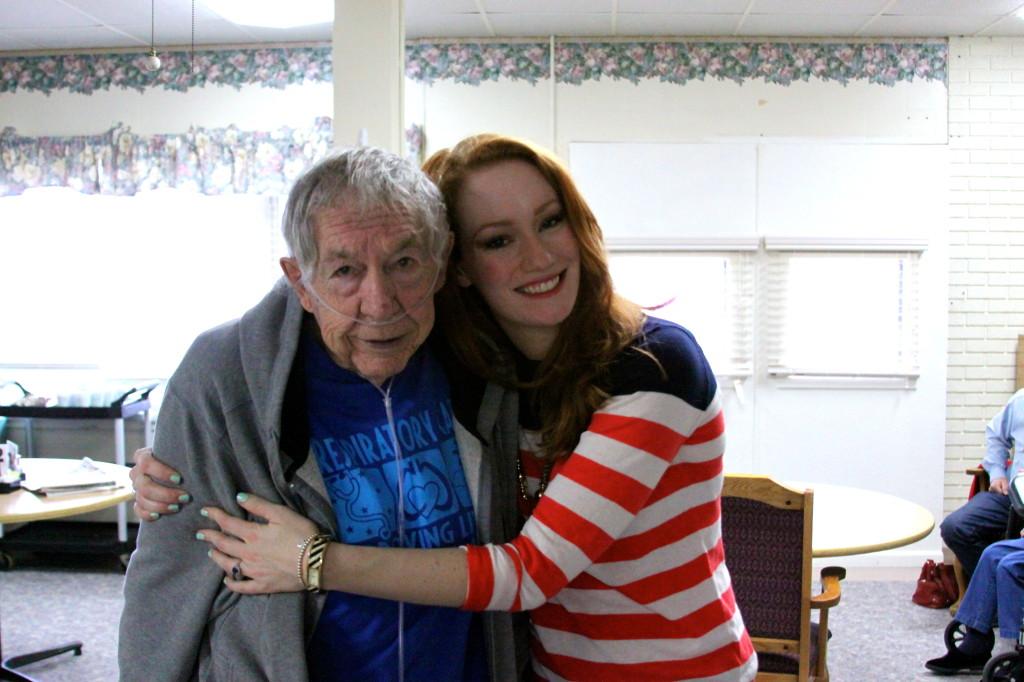 Christiana and Grandpa 2013