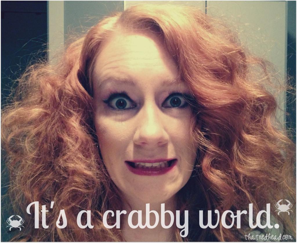 Crabby Redhead